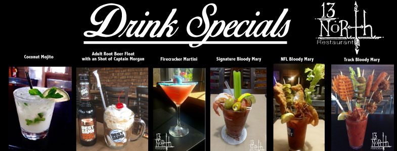 Signature Drinks @ 13 North